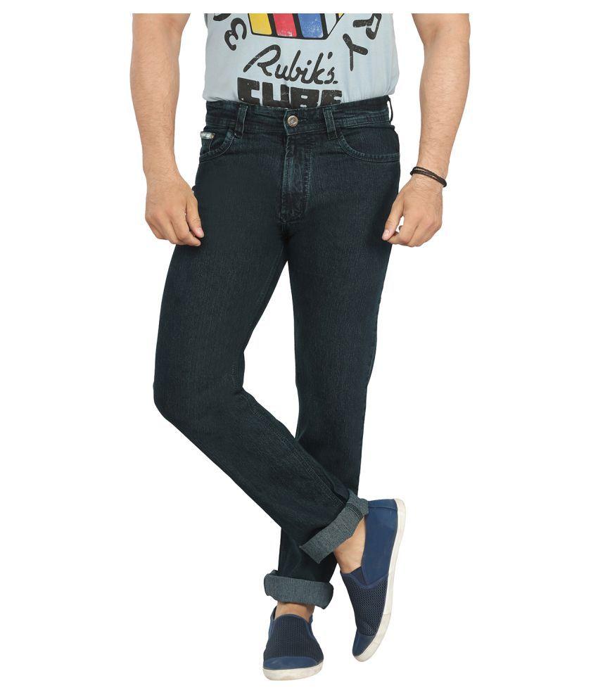 X20 Jeans Dark Green Regular Fit Jeans