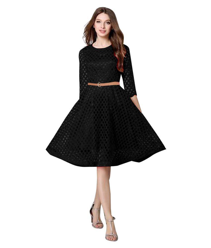 Saryu E Fabric Lace Dresses