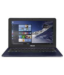 Asus E Series L202SA Netbook Intel Celeron 2 GB 29.46cm(11.6) Windows 10 Home without MS Office Not Applicable Blue