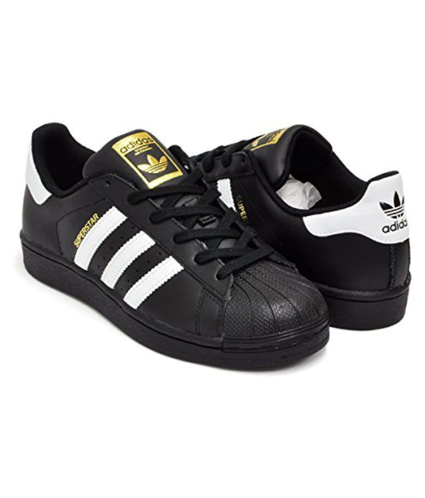 ... Adidas Superstar Sneakers Black Casual Shoes ...