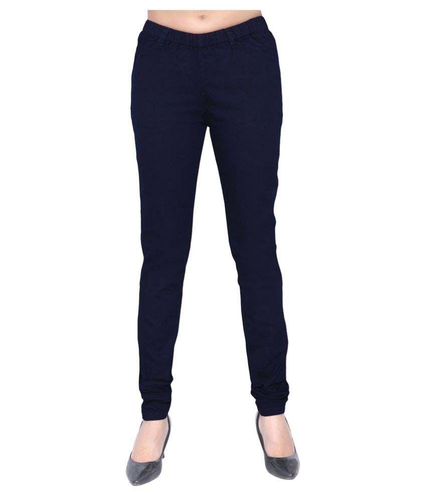 ecbb122589e Buy Trusha Dresses Denim Lycra Jeggings Online at Best Prices in India -  Snapdeal