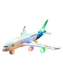 Arihant Musical Airbus A380 Aeroplane Kids Toy