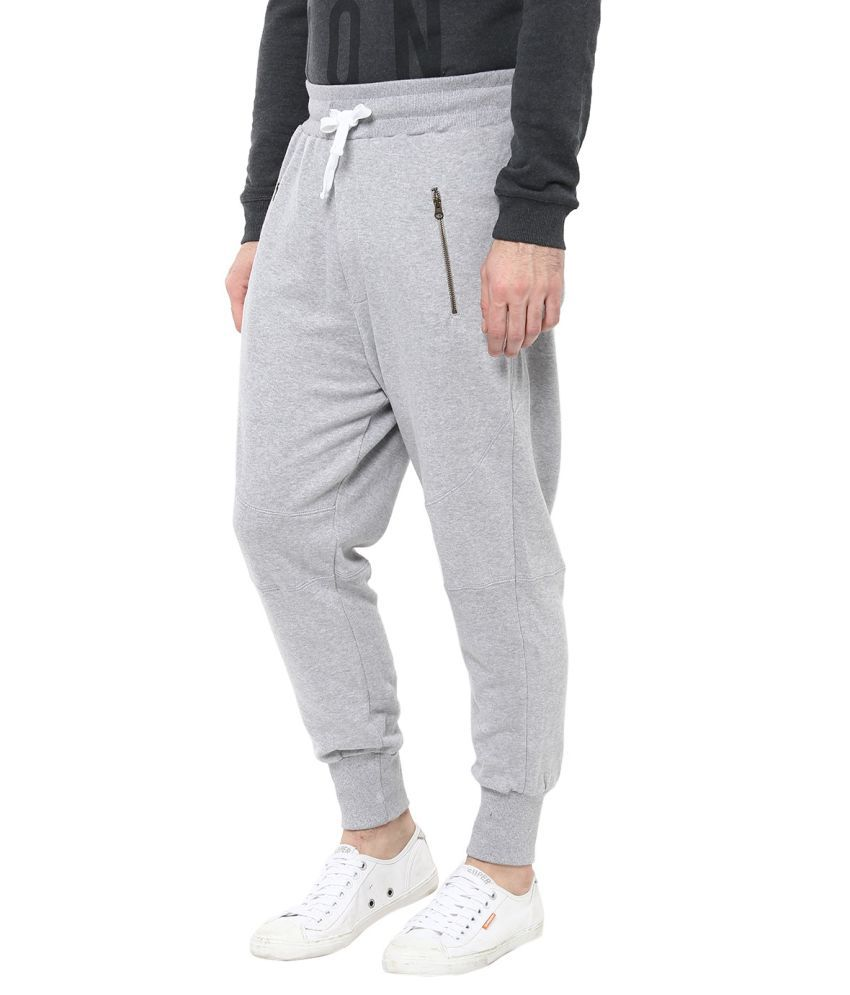 e742aaad4 United Colors of Benetton Grey Cotton Trackpants - Buy United Colors ...