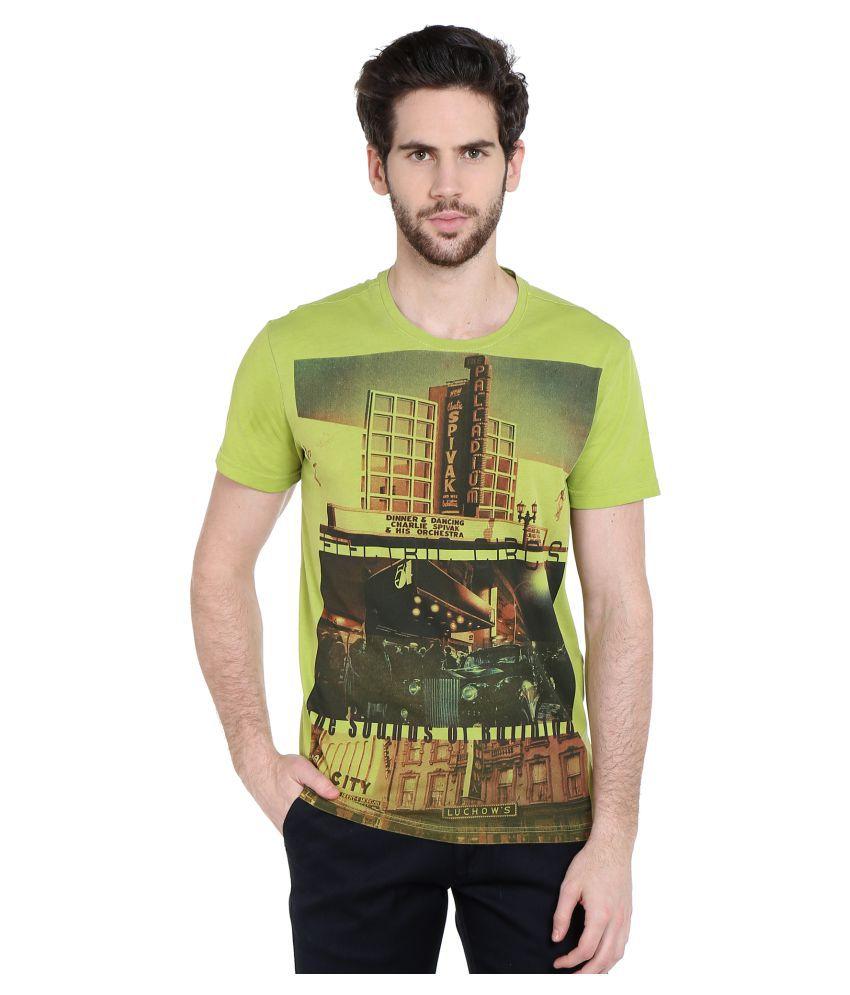 Dream of Glory Inc. Green Round T-Shirt