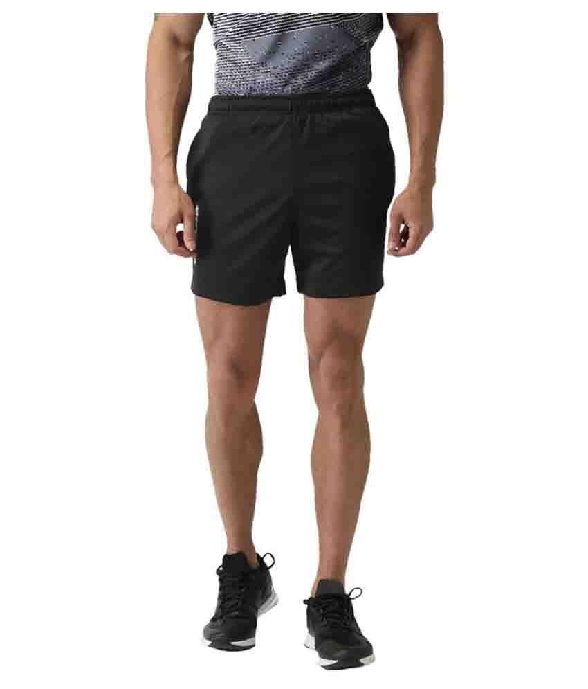 2GO Bold Black GO Dry Running Shorts
