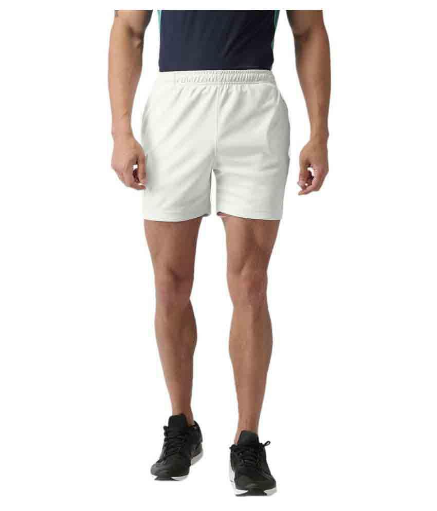 2GO Pace White GO Dry Running Shorts