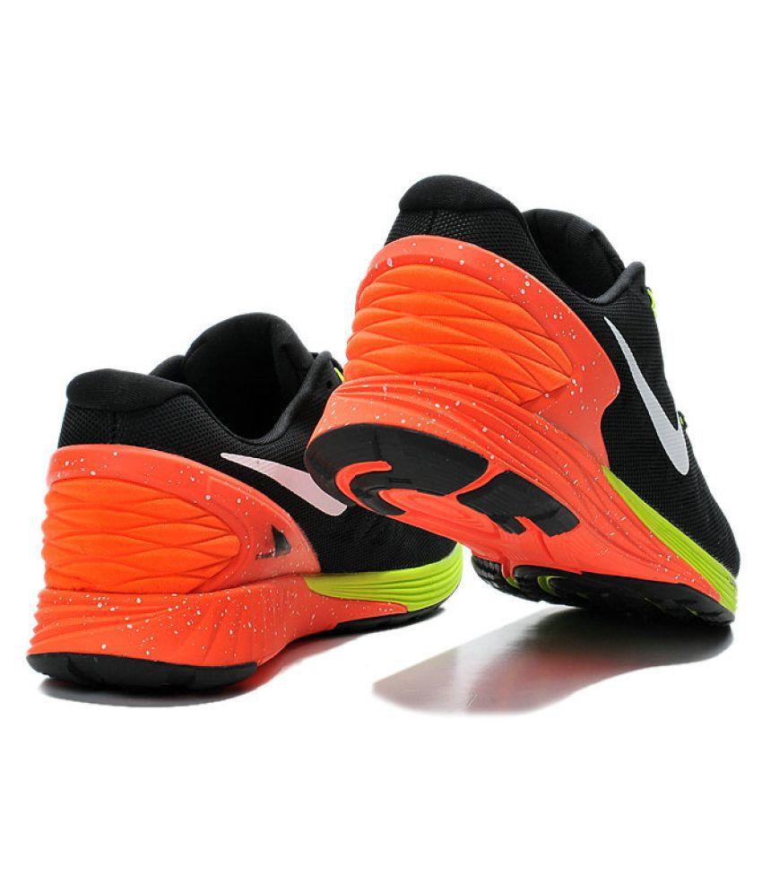 new concept d2d7b e3a22 ... Nike Lunar Glide 6 Black Running Shoes ...