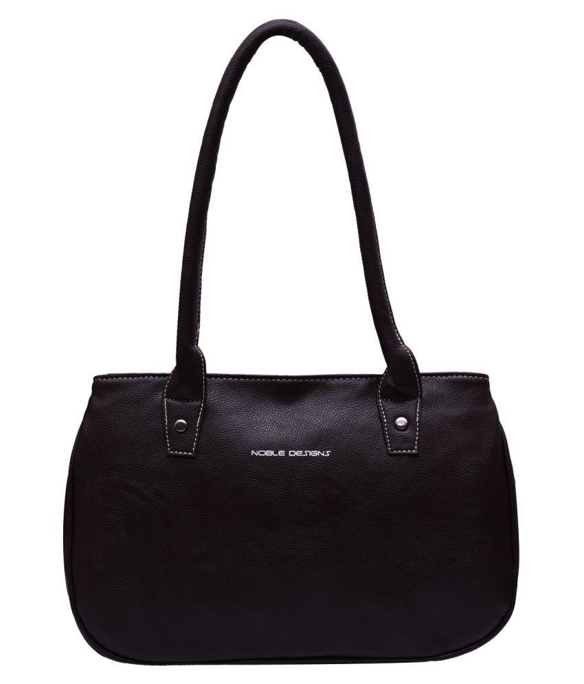 noble designs black p u handheld buy noble designs black p u rh m snapdeal com