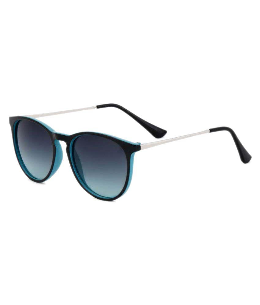 Royal Son Blue Round Sunglasses ( WHAT2640SG )