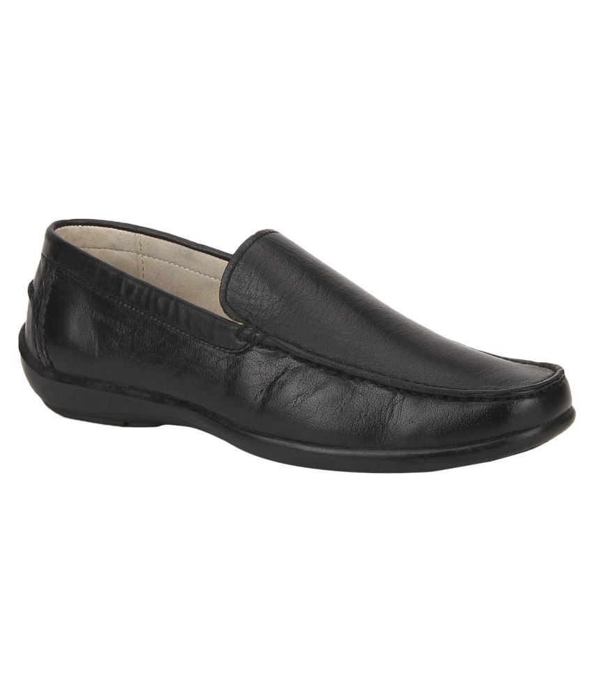 woodland black office genuine leather formal shoes price