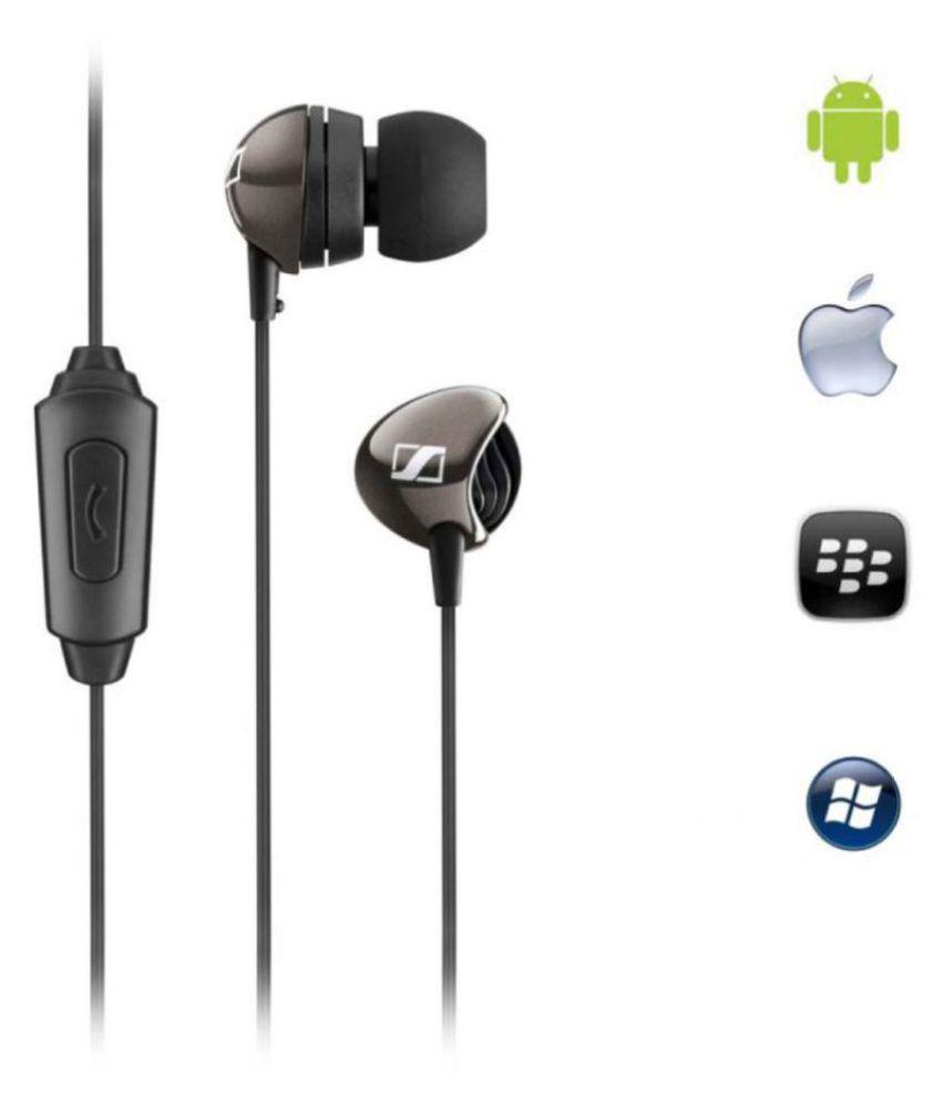 Sennheiser Cx 275 S In Ear Wired Earphones With Mic Buy Earphone Sport