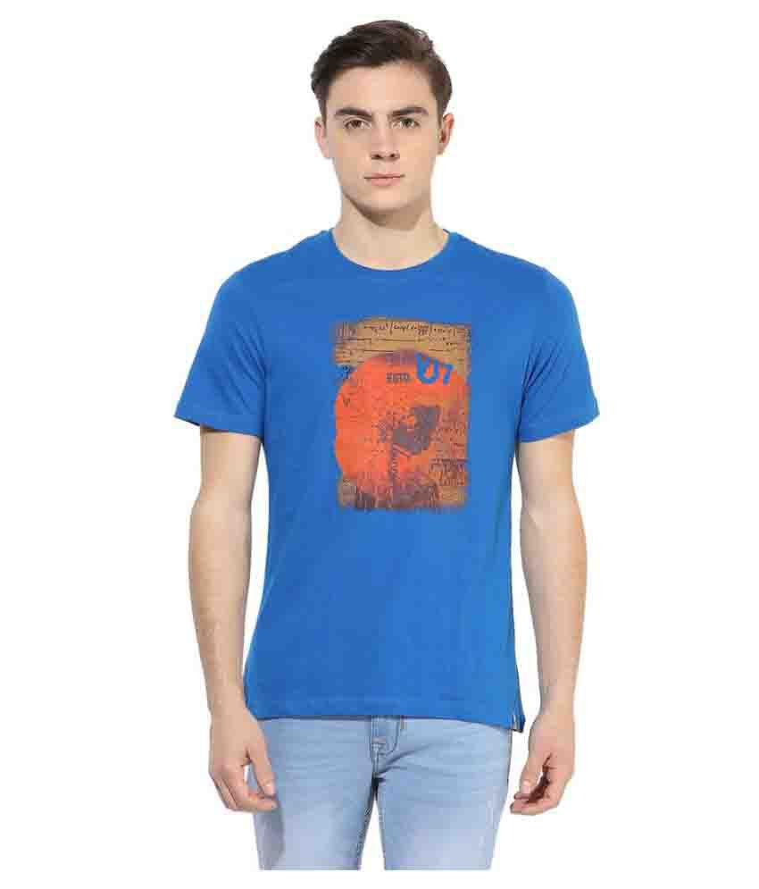 London Bridge Blue Round T-Shirt