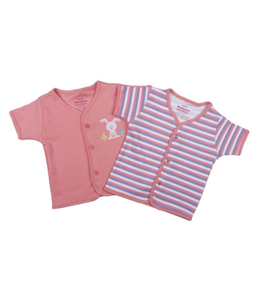 Morisons Baby Dreams Half Sleeve T-shirt - Set of 2