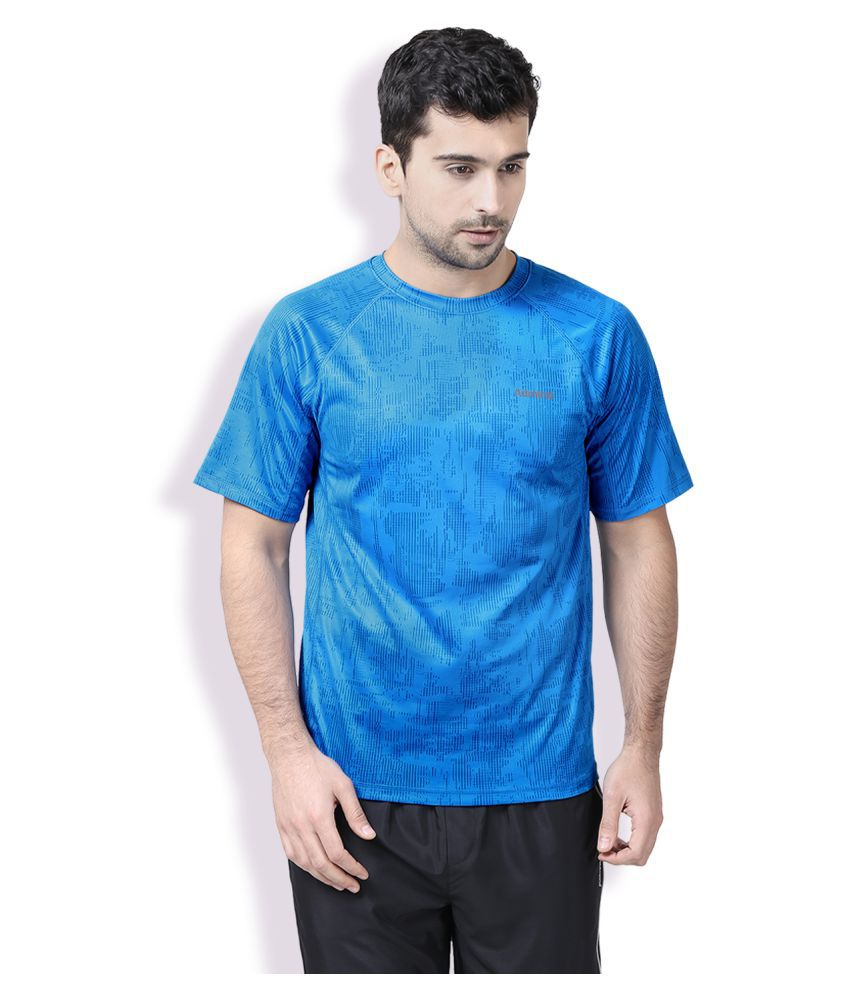 Admiral Blue Polyester T-Shirt Single Pack
