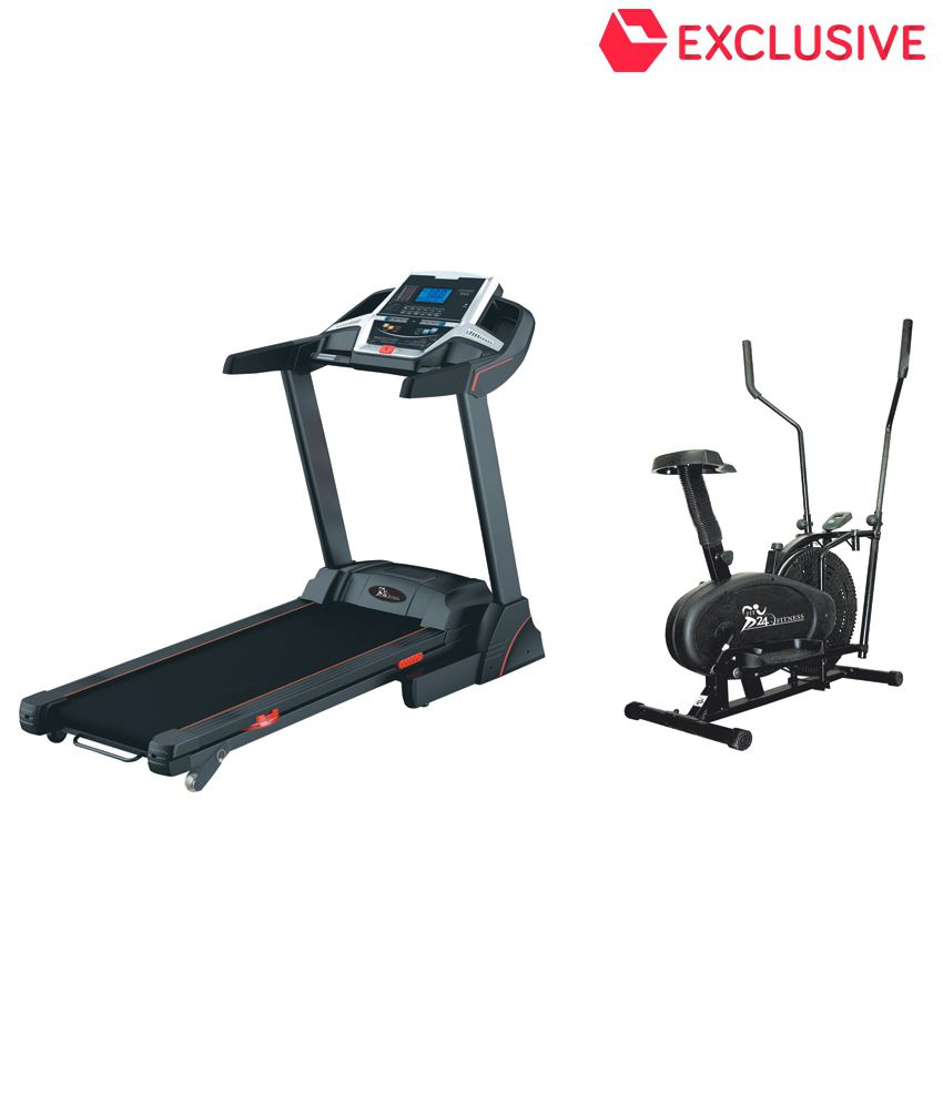 Cybex Treadmill Error Code 3: Fit24 Fitness Combo Of Motorized Treadmill T-509 With
