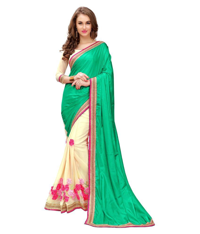 Rhmart Multicoloured Silk Saree