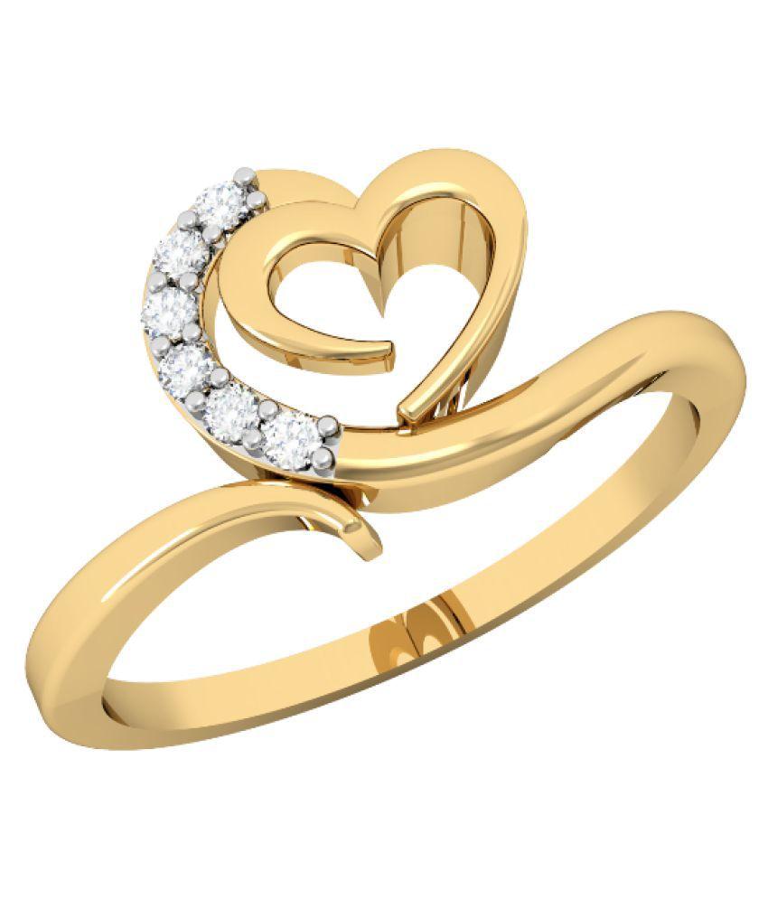 Vachya 18k Gold Diamond Ring