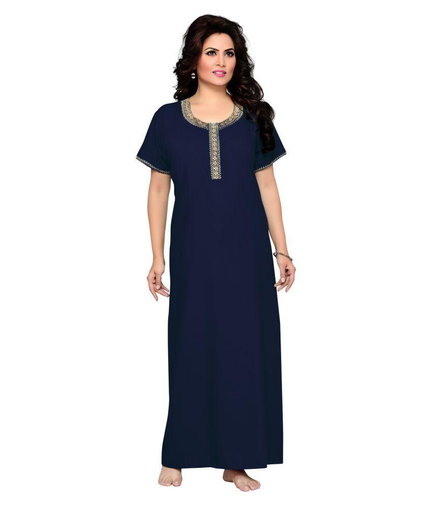 Salwar Studio Cotton Nighty & Night Gowns