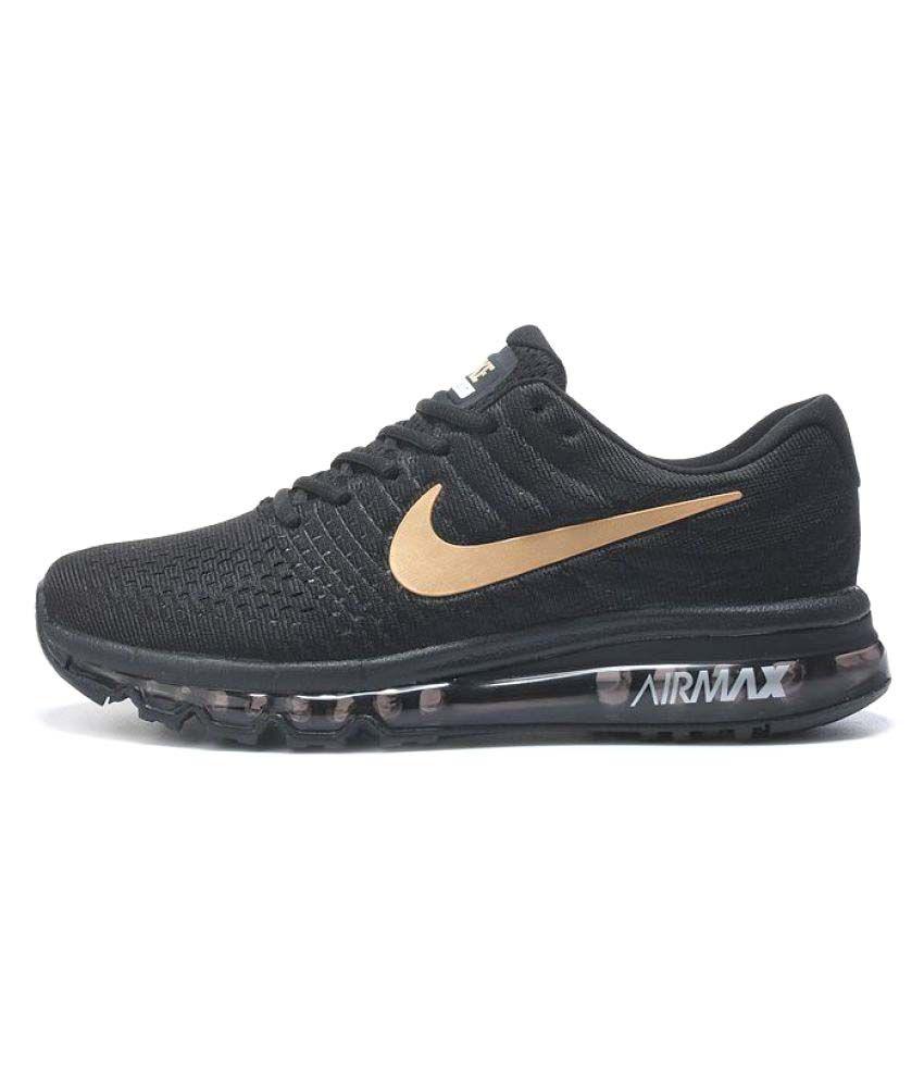 Nike Air Max 2017 Black Running Shoes ...