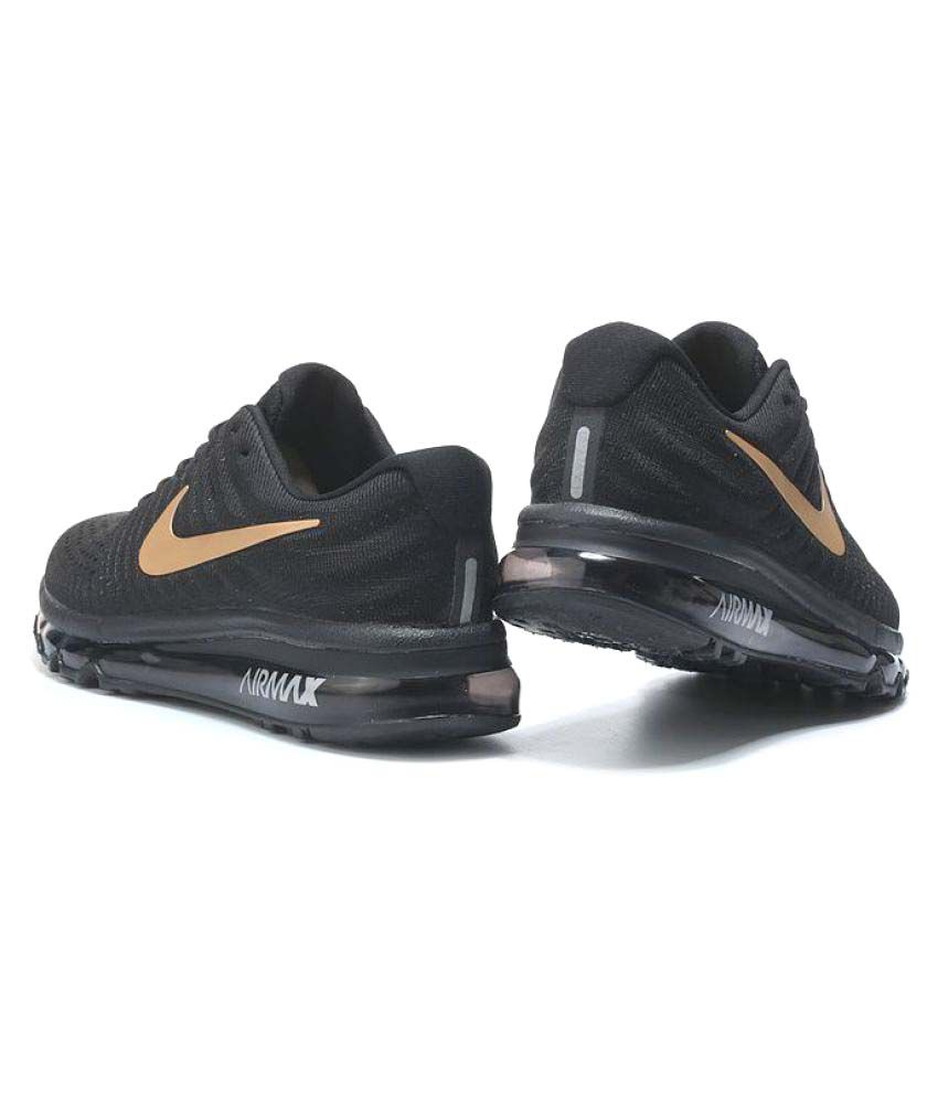 quality design 2d117 776fb ... Nike Air Max 2017 Black Running Shoes ...