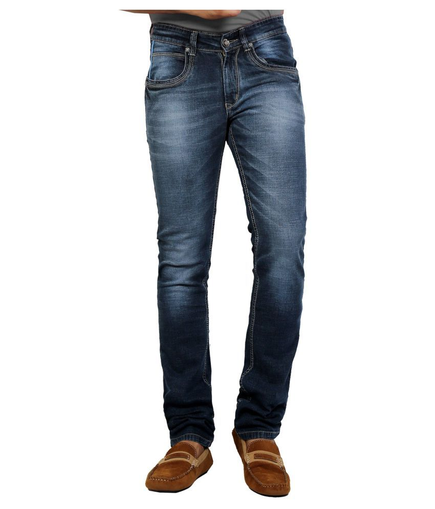 DFU Jeans Dark Blue Regular Fit Jeans