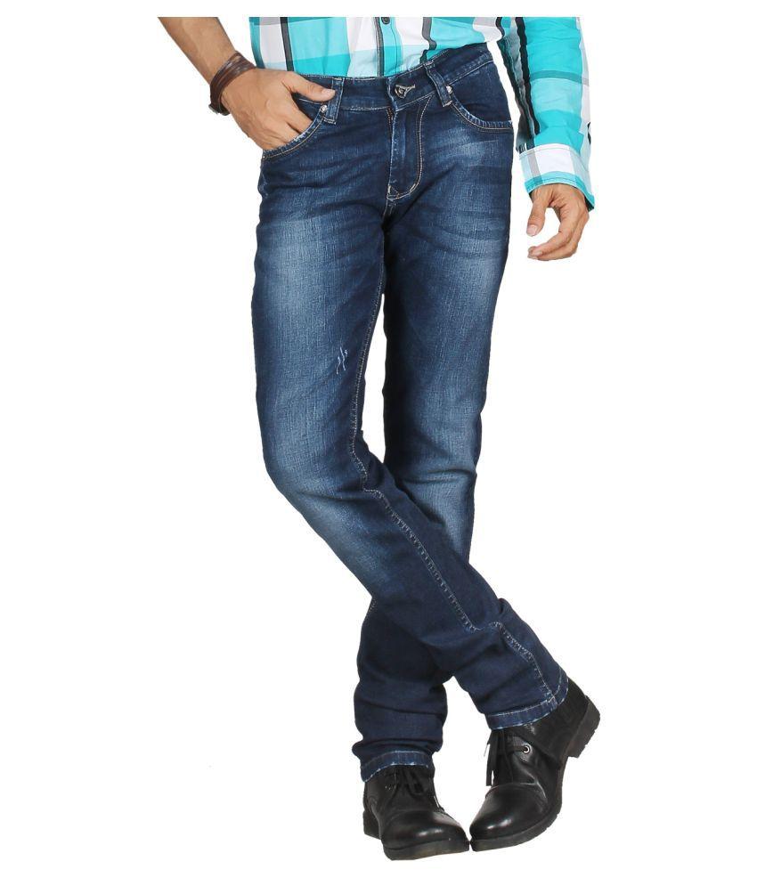 DFU Jeans Dark Blue Regular Fit Jeans