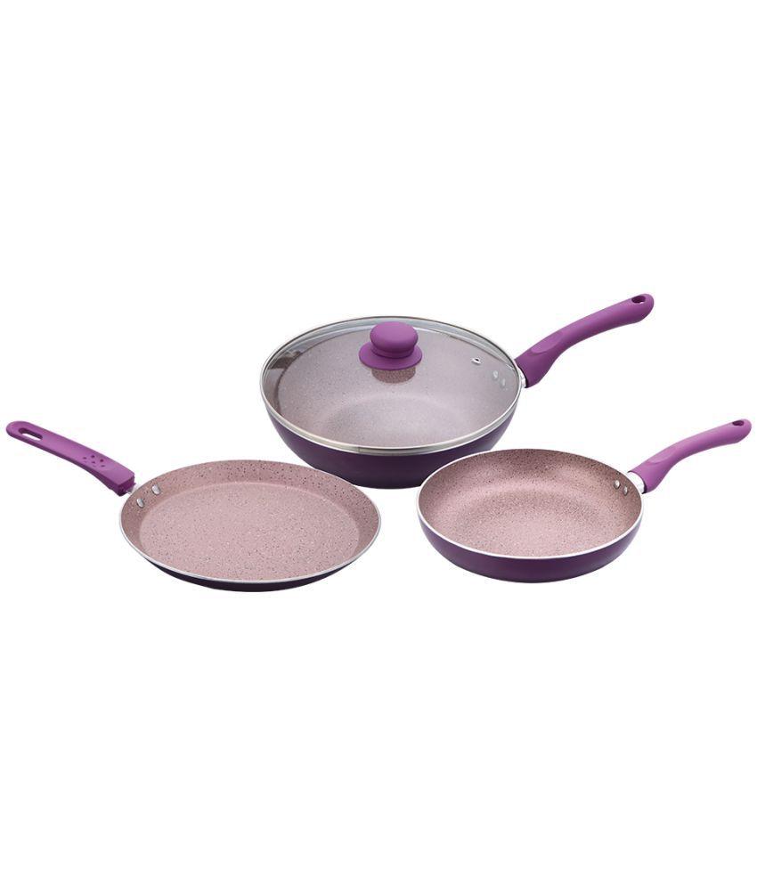 Wonderchef Royal Velvet Plus Set Purple