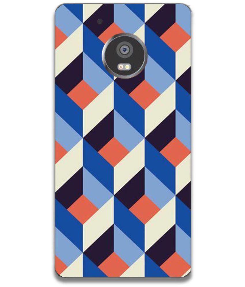 Moto G5 Plus Printed Cover By Youberry