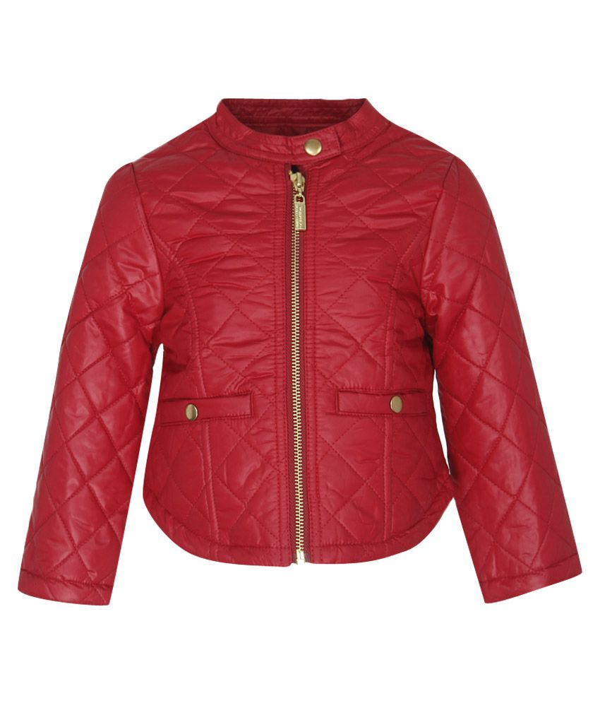 United Colors of Benetton Maroon Girls Jackets