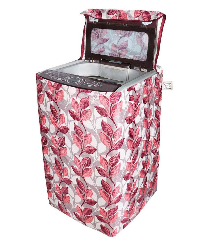 E Retailer Single Polycotton  Suitable For 6 Kg, 6.5 Kg, 7Kg, 7.5Kg  Washing Machine Covers