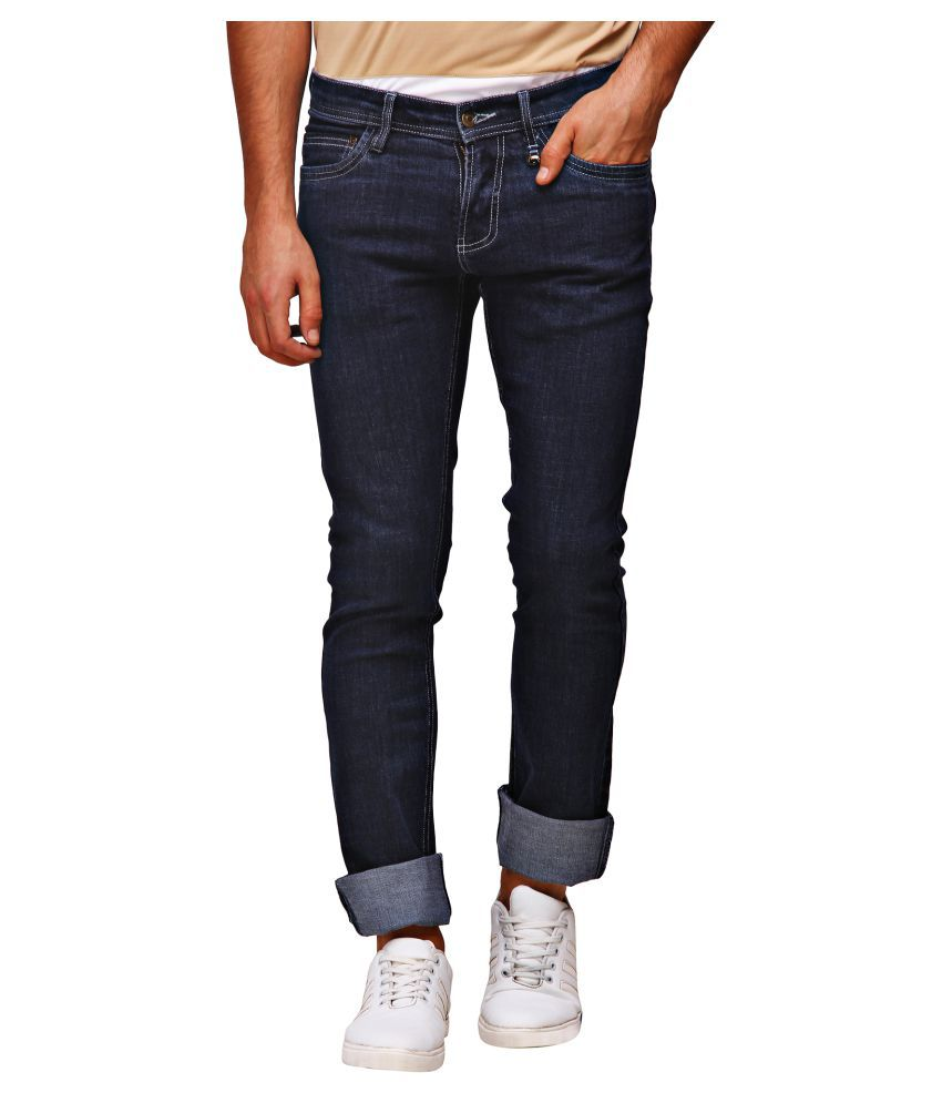 Jumpusa Dark Blue Slim Jeans
