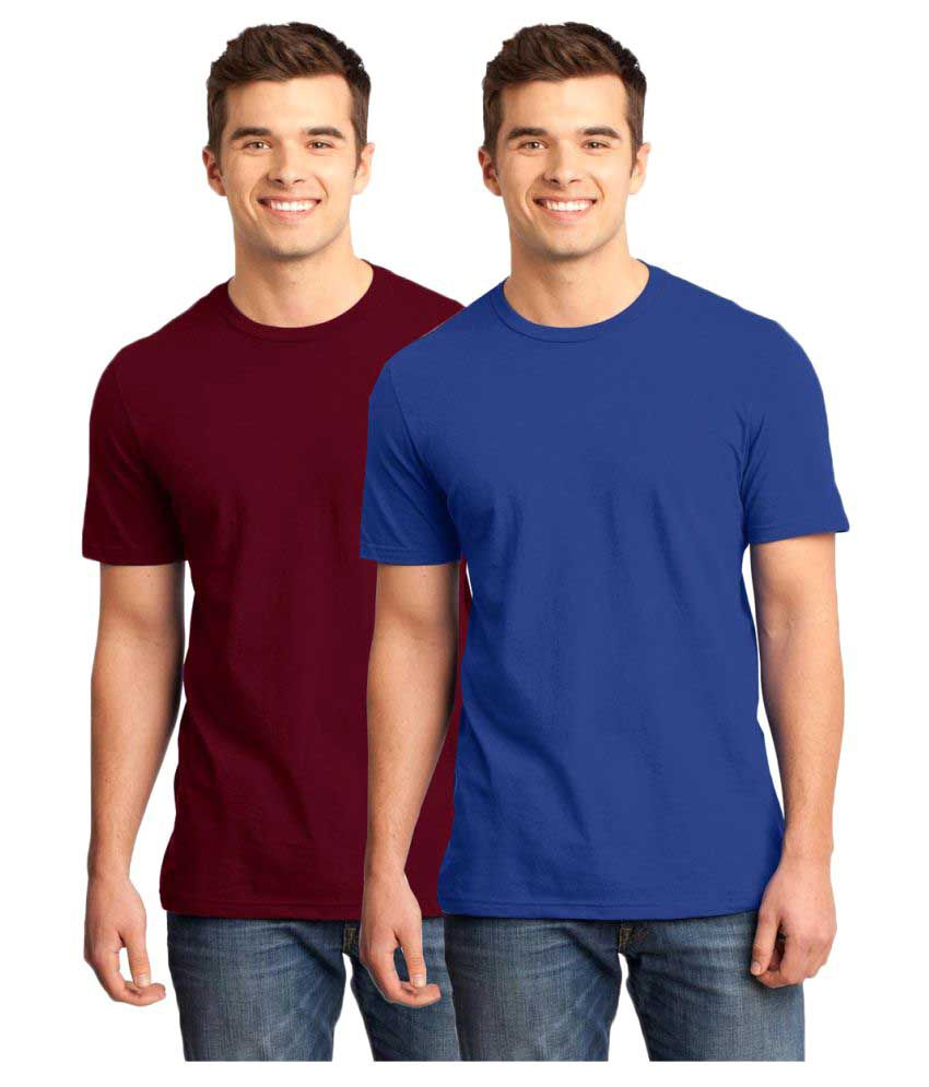 Gallop Multi Round T-Shirt Pack of 2