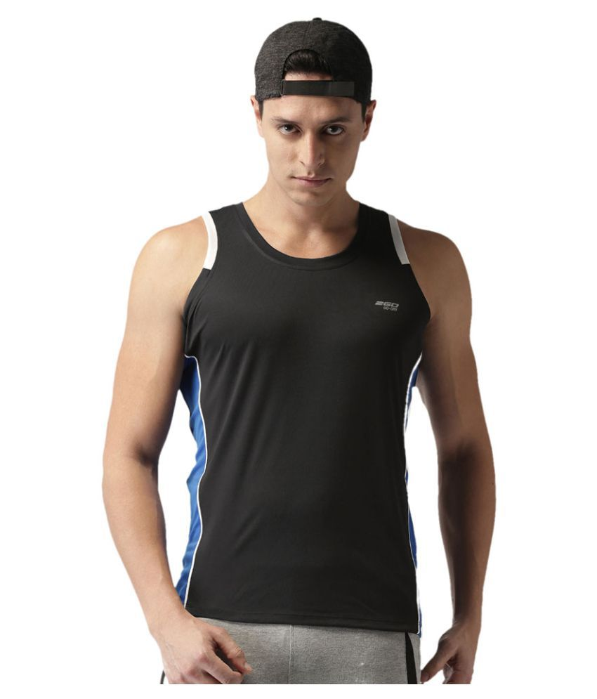 2GO Bold Black Sleeveless T-shirt