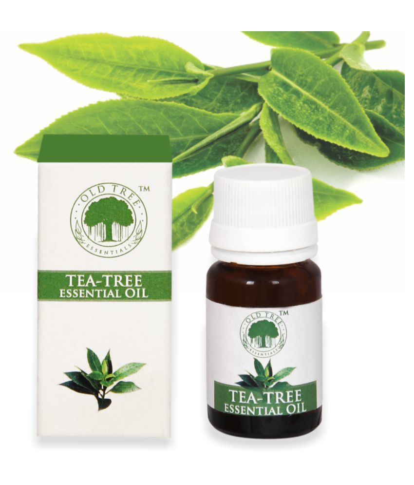 OLD TREE Tea Tree Essential Oil With Measuring Cup 15 ml