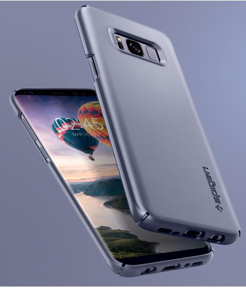 on sale 92cef ca181 Spigen Galaxy S8 Case Thin Fit Orchid Gray 565CS21623