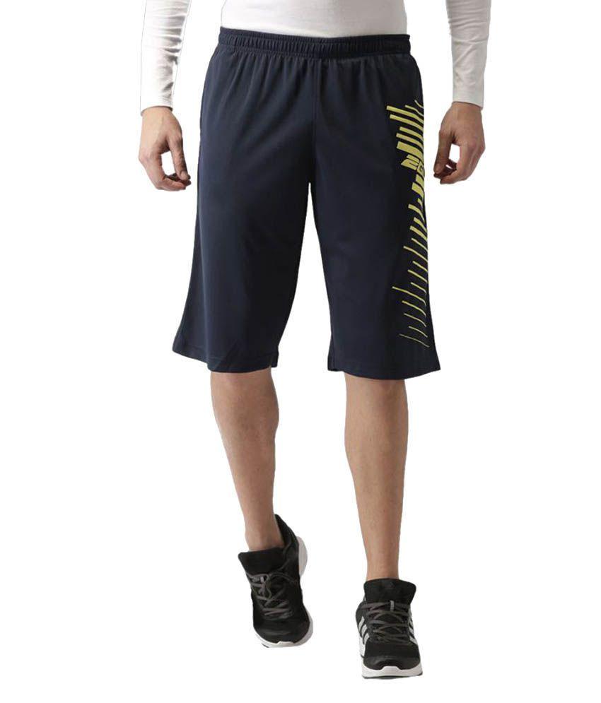 2GO Dare Navy Printed Basket Ball Shorts