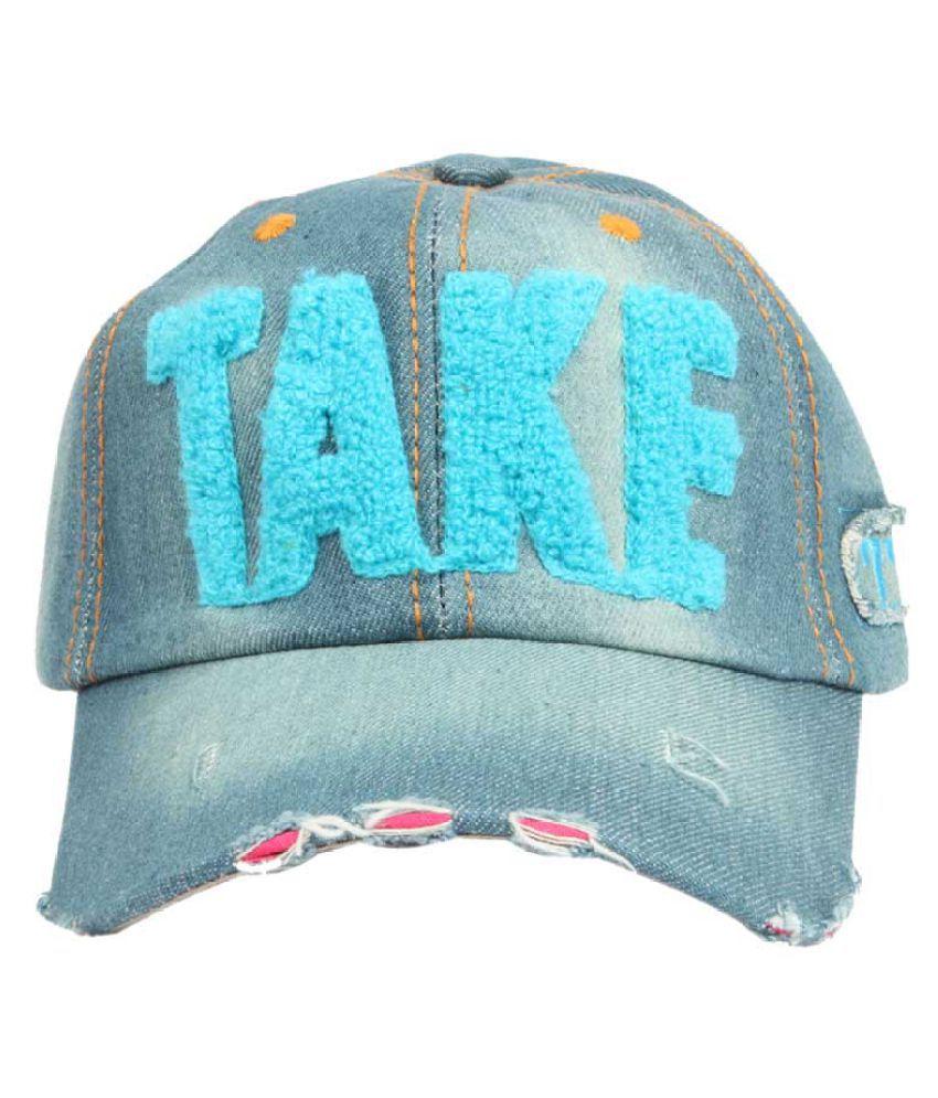 ILU Blue Cotton Caps
