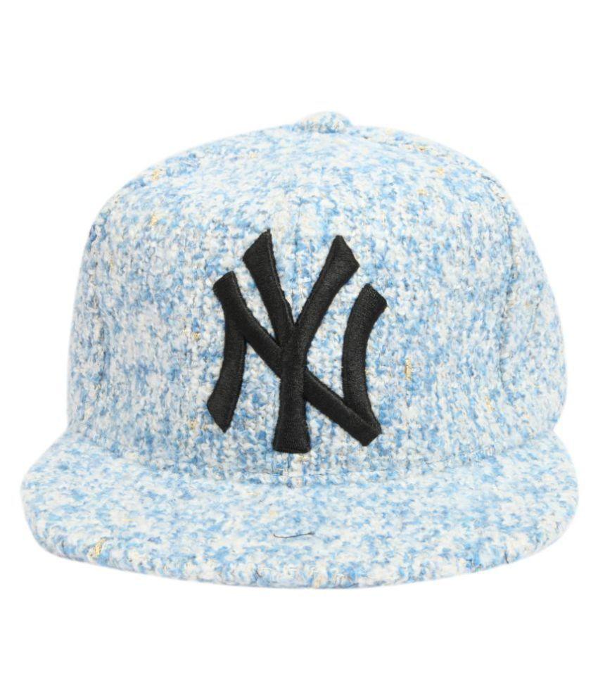 81b595d0512 ILU Blue Plain Wool Caps - Buy Online   Rs.