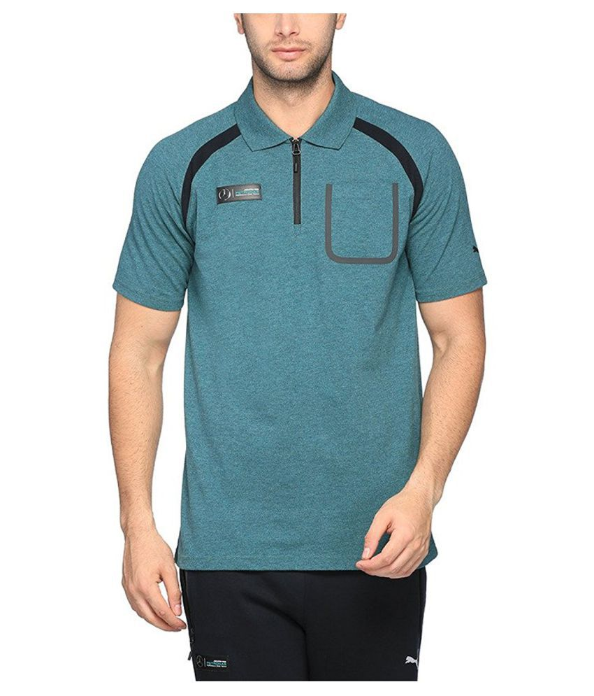 Puma Men's Cotton Polo T-shirt