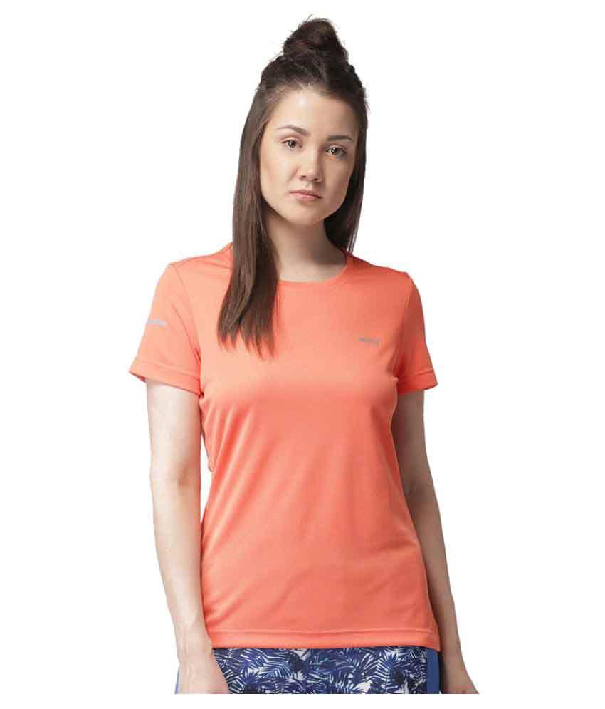2GO Peach Round neck Half sleeves T-shirt