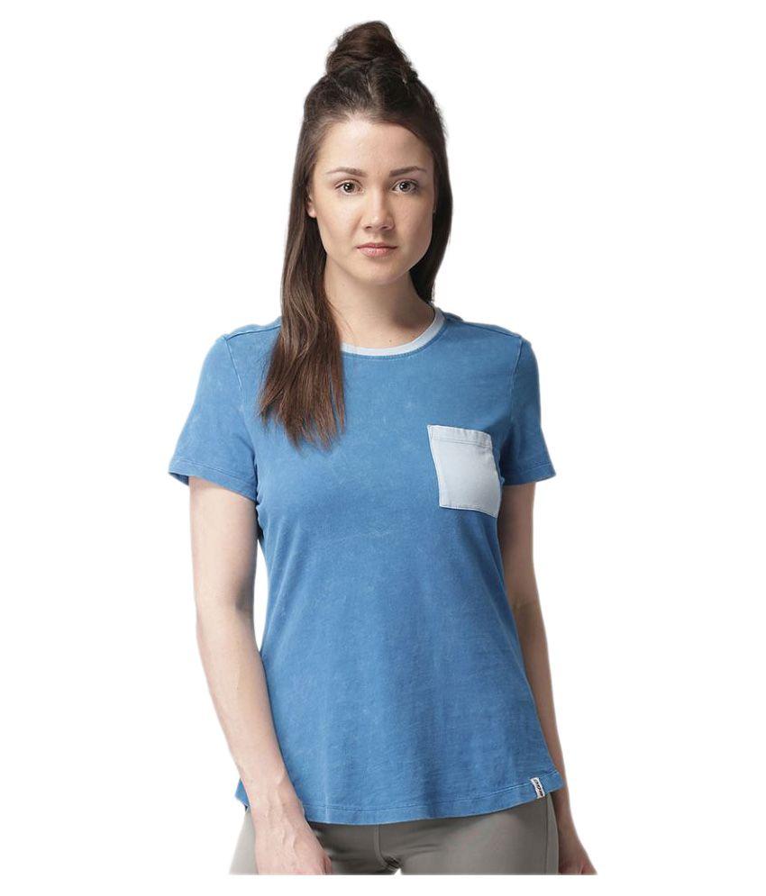 2GO Royal Blue Casual T-shirt