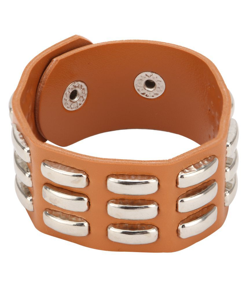 Hide Bulls Italian Leather Bracelet