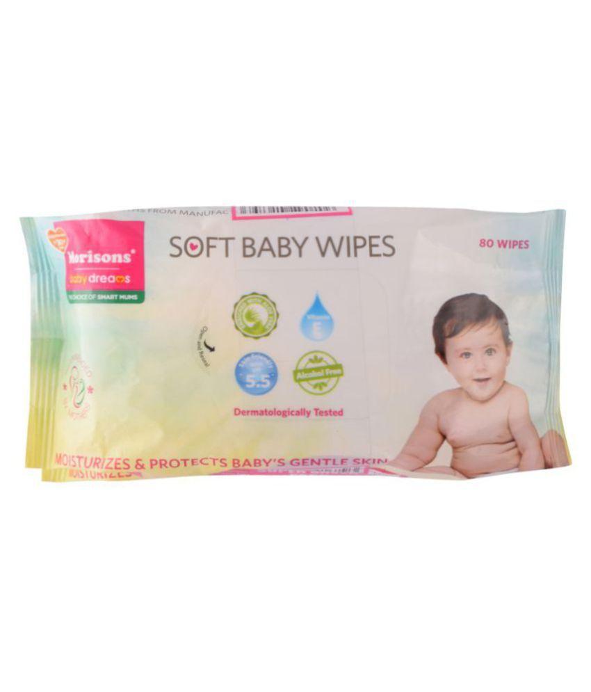 Morisons Baby Dreams Wipe   Pack of 2