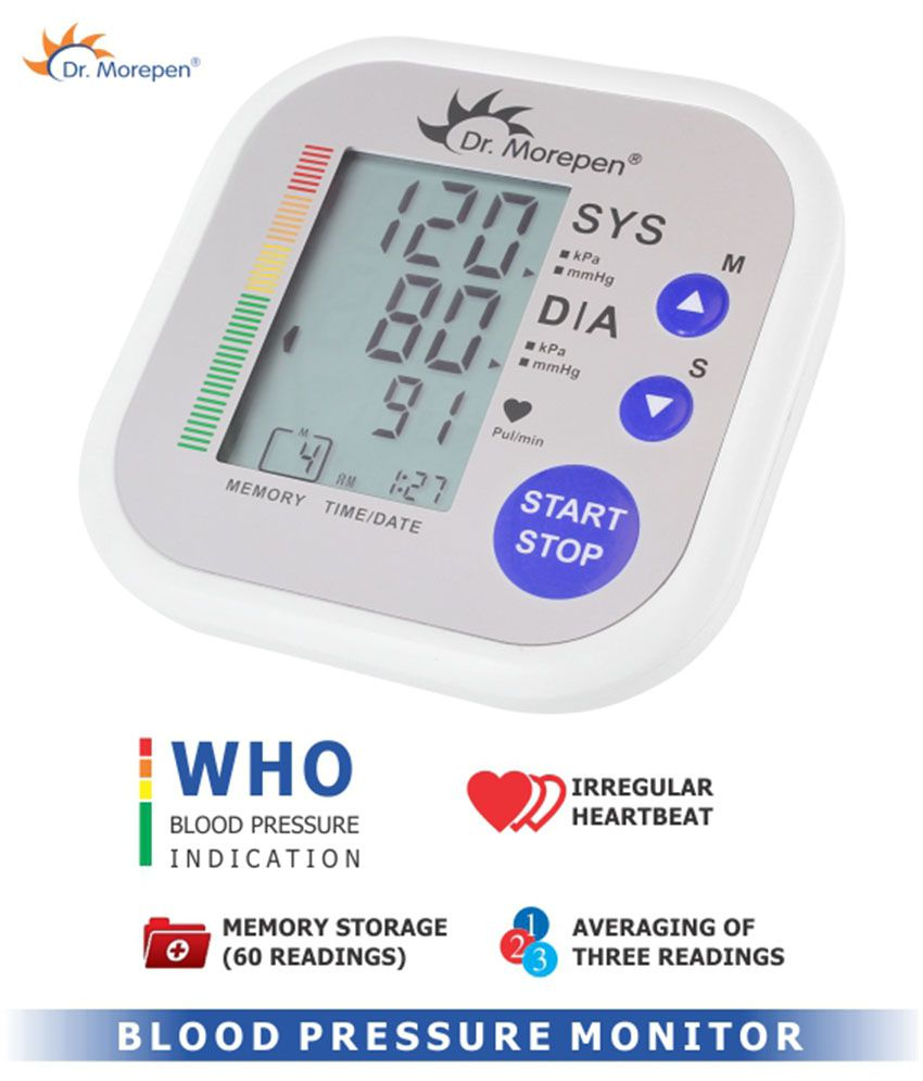 92c8f281b Dr Morepen BP-02 Blood Pressure Monitor  Buy Dr Morepen BP-02 Blood  Pressure Monitor at Best Prices in India - Snapdeal