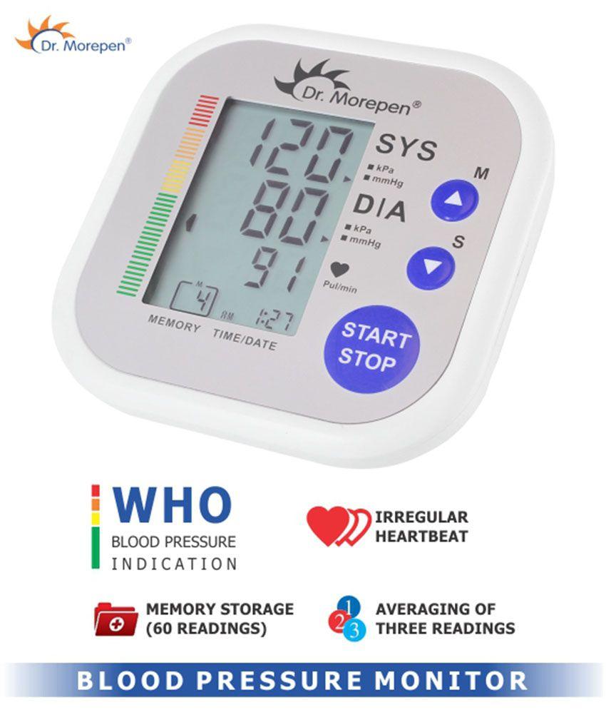 Dr. Morepen irregular heartbeat detection