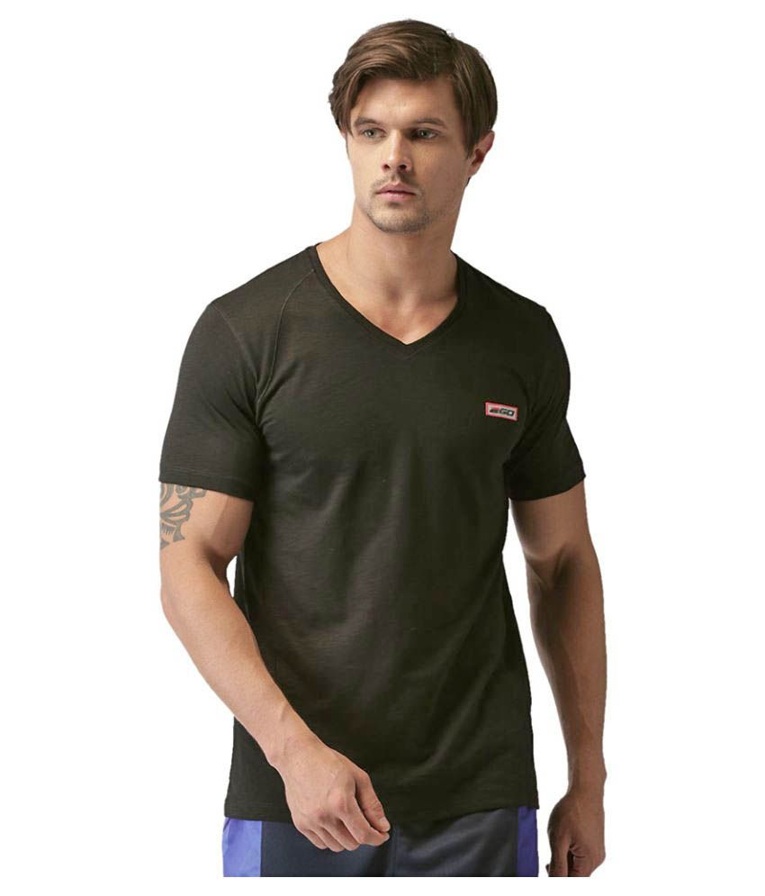 2GO Bold V-neck half sleeves T-shirt