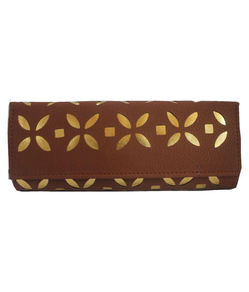 PU-Asia Brown Wallet
