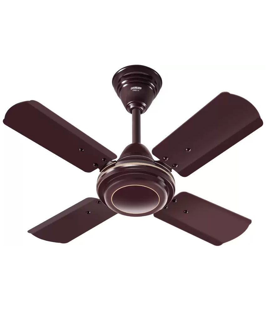Price To Install Ceiling Fan: Eveready 600mm Ceiling Fan Brown Price In India