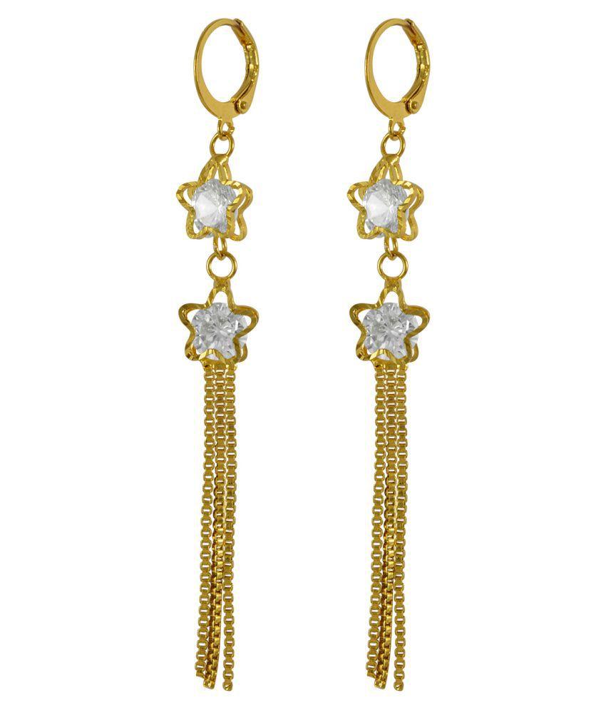 Long Crystal Rhinestone Dangle Earrings, Vintage Drop Earrings, Wedding Bridal Jewelry by Sarah