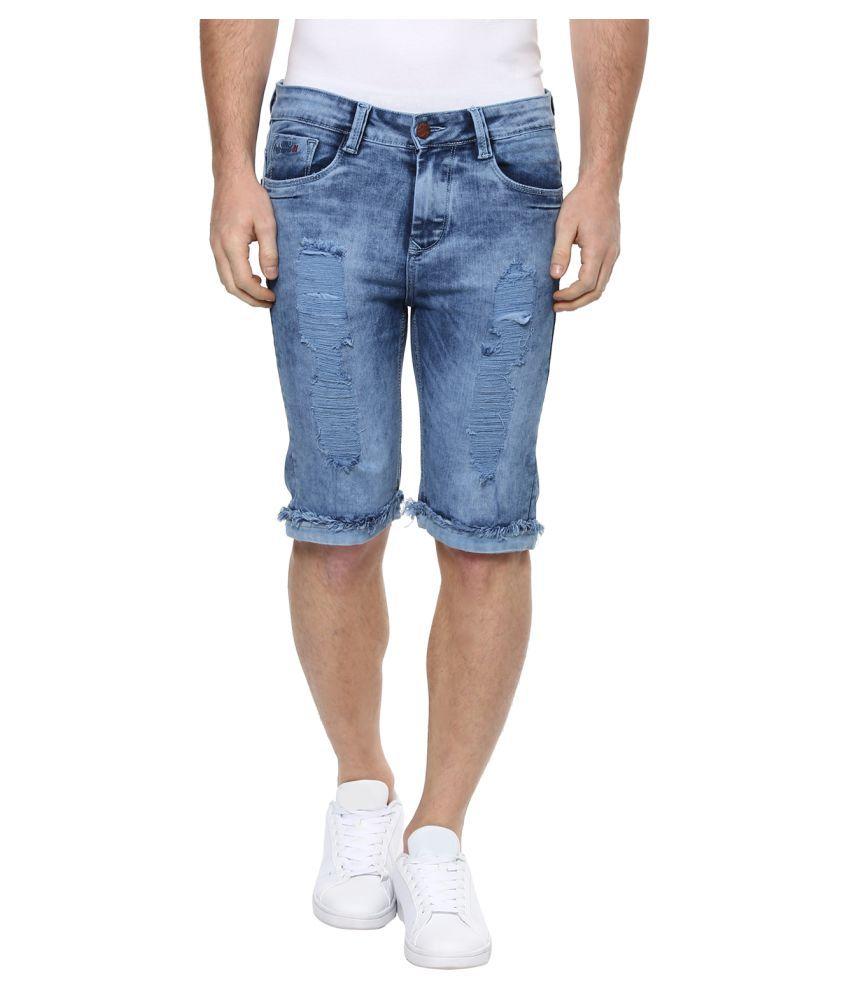 Code 61 Blue Shorts